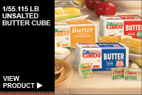 1/55.115 LB UNSALTED BUTTER CUBE