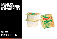 1/8LB 90 CUT WHIPPED BUTTER CUPS