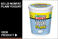 6/2LB NONFAT PLAIN YOGURT