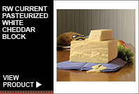 RW CURRENT PASTEURIZED WHITE CHEDDAR BLOCK