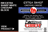 RW EXTRA SHARP WHITE CHEDDAR BLOCK