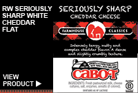 RW SERIOUSLY SHARP WHITE CHEDDAR FLAT