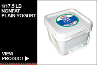 1/17.5LB NONFAT PLAIN YOGURT