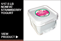 1/17.5LB NONFAT STRAWBERRY YOGURT