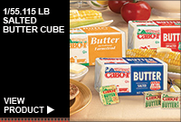 1/55.115LB SALTED BUTTER CUBE