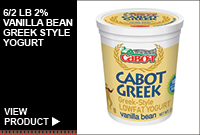6/2LB 2% VANILLA BEAN GREEK STYLE YOGURT