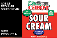 1/36LB REGULAR SOUR CREAM