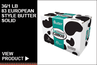 36/1 LB, European Style Butter Solid
